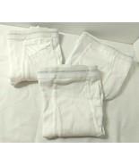 3 Pr Vtg Size 42 Hanes Briefs Light Gray Letters Underwear Tighty Whities - $33.12