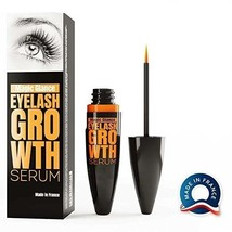 Natural Eyebrow Eyelash Rapid Growth Serum Fast Results High Potency Tre... - $22.99