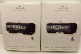 Hallmark Lionel New York Central Observation & Passenger Cars  Keepsake Ornament - $18.76