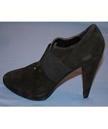 Womens Black Suede Leather Jessica Simpson High Heels Sz 9B Shoes 9 B - $28.69