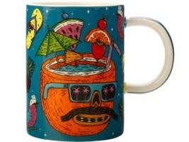 Set of 4 Maxwell and Williams Mulga the Artist Mug 450ML Coconut - $260.00