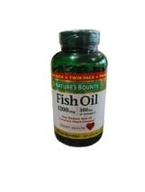 Nature's Bounty Fish Oil 1200 Mg 360mg Omega 200 Softgels FREE SHIPPING Exp10/21 - $14.25