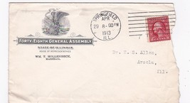 FORTY-EIGHT General Assembly Springfield, Ill 1913 - $2.98