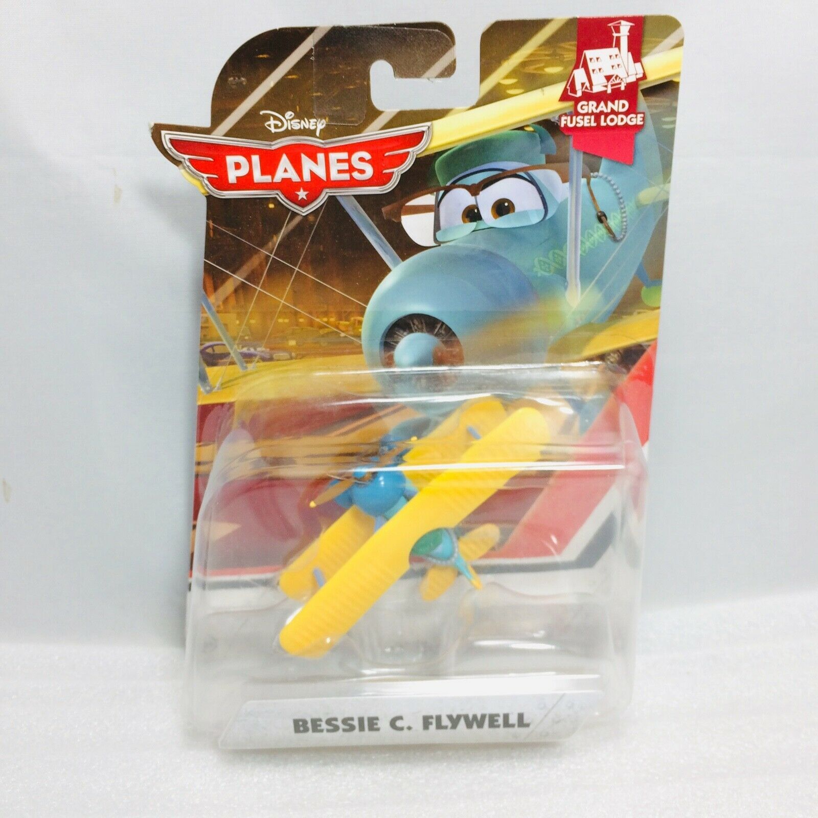 Disney Pixar Planes Bessie C Flywell New in Package - 2014 - Rare