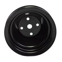 Long Water Pump Pulley LWP Double-Groove For Small Block Chevy SBC 262 350 400 image 4