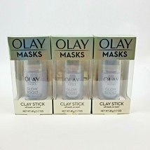 3X Olay Masks Glow Boost Clay Stick Facial Mask 1.7oz - $16.10