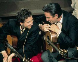 Bob Dylan Johnny Cash EE Vintage 11X14 Color Music Memorabilia Photo - $13.95