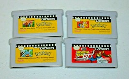 Pokemon Video Nintendo Game Boy Advance LOT of 3 Plus Dragonball GT GBA - $34.64