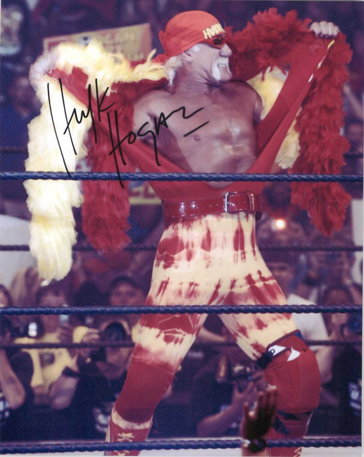 Primary image for Hulk Hogan Signed Autographed Glossy 8x10 Photo