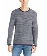 Calvin Klein Homme Pull Taille L Mood Indigo Ras Du Cou Tricot Sweatshirt - $45.07