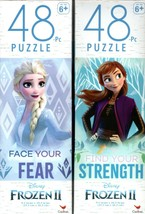 Disney Froze II - 48 Pieces Jigsaw Puzzle - v1 (Set of 2) - $15.83