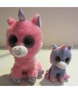 Ty Beanie Boos MAGIC the Pink Unicorn plus bonus - $23.70