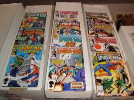Spectacular Spider-Man #75-124 Marvel Comic Book Lot Of 11 VF Condition ... - $11.69