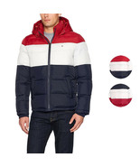Tommy Hilfiger Men's Ultra Loft Insulated Classic Hooded Puffer Jacket Coat - $98.95+
