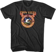 Thin Lizzy-Wolf Moon- X-Large Black T-shirt - $17.41