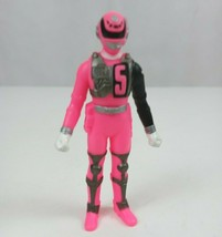 "2004 Bandai Power Rangers SPD Sound Patrol Pink Ranger 3.5"" Vinyl  Figure - $9.74"