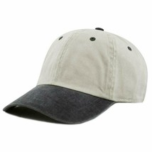 The Hat Depot 100% Cotton Pigment Dyed Low Profile Dad Hat Six Panel Cap - $17.99+