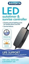 Interpet LED Auto Timer and Sunrise Lighting Controller Tank Healthy Pla... - $9.80