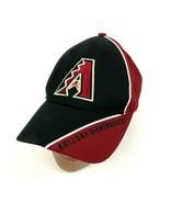 MLB Arizona Diamondbacks Baseball Cap Hat One Size Red Strapback Adjusta... - $27.33