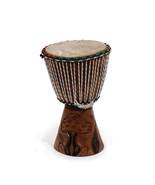 Drum D'Jembe Drum - Surface leather, Goatskin, Sturdy Wood Base, Size 10... - $190.00