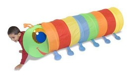 Melissa & Doug Happy Giddy Play Tunnel Sunny Patch New - $44.50
