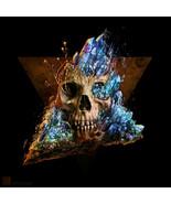 RITUAL OF THE CRYSTAL SKULL Psychic Power / 3rd Eye See Spirits / Future Satanic - $792.00