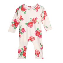 Newborn Baby Girl Romper Floral  Long Sleeve Baby Girl Clothes Jumpsuit ... - $11.80
