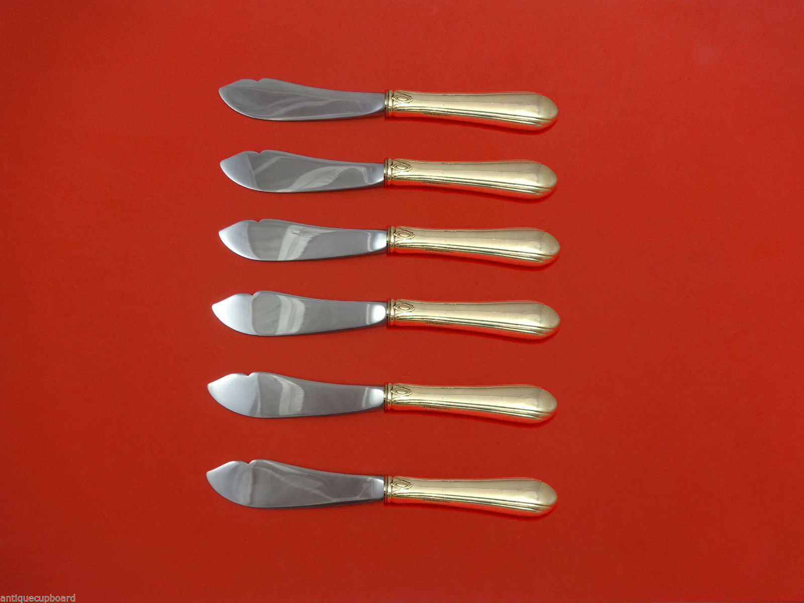 Primary image for Lady Diana by Towle Sterling Silver Trout Knife Set 6pc HHWS  Custom Made