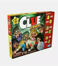 Hasbro Gaming My First Clue Game Clue Junior Game Family Board Game New - $17.81