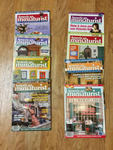 Choice AMERICAN MINIATURIST Magazine May 2006 - May 2007 #37 to #49 various - $5.95