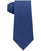 Michael Kors Men's Marl Criss Cross Neat Tie (Navy) - $47.48