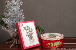 Christmas Holiday Tin and Box - $4.94