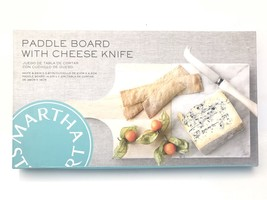 Martha Stewart Collection Paddle Board with Cheese Knife - €40,09 EUR