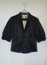 Womens DIESEL Black Fitted Jacket Blazer Sz. Med. MSRP $1,199,990 MINT - $98.99