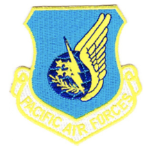 """3"""" Air Force Pacific Air Command Embroidered Patch - $23.74"""