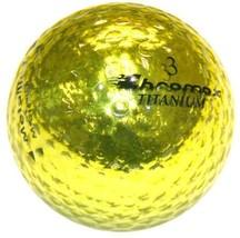 ProActive Sports Golf Chromax M1 Golf Ball Gold Shiny New - $20.84