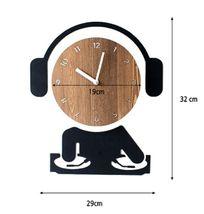 Moro Design DJ Wall Clock Non Ticking Silent Quartz Decorative Modern Clock Deco image 6