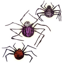 Wall Decor Martha Stewart Crafts Illuminated Spider Decorations Chipboar... - $9.92