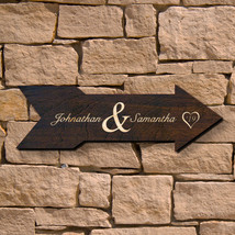 Alvara Personalized Wedding Sign (Signature Series) - $49.95