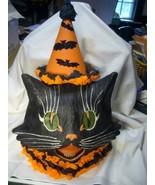 Bethany Lowe Sassy Cat Large Lantern - $99.95