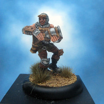 Painted Privateer Press Miniature Devil Dog Trooper Warmachine Mercenaries III - $44.70