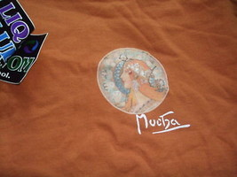 Alphonse Mucha Painting Licensed T-Shirt M - $19.79