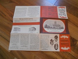 Old Vintage The Old State Capitol Springfield Illinois Historical Paper ... - $9.99