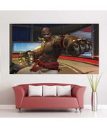 Wall Poster Art Giant Picture Print Doomfist Overwatch Game 2367PB - $27.99