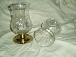 Home Interiors Hurricane Sconce Votive Cups Homco (b) - $9.99