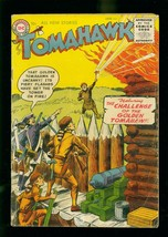 TOMAHAWK #37 1956- DC WESTERN - GOLDEN TOMAHAWK- SILVER AGE G/VG - $45.40