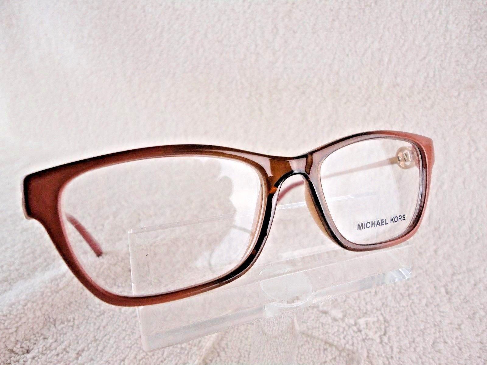 Michael KORS MK 8005 (Deer Valley) Brown Rio (3008) 50X16 135mm Eyeglass Frame