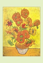 Vase with Fourteen Sunflowers by Vincent van Gogh - Art Print - $19.99+