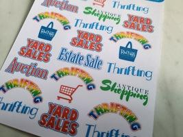 Thrift Shopper Sticker Sheet image 2