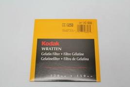 """Kodak 143 8266 Wratten Filter 150MM 6"""" SQ Gel Filter CC025B New - $69.29"""